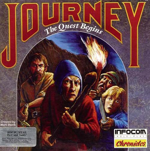 journey. The Infocom Gallery: Journey
