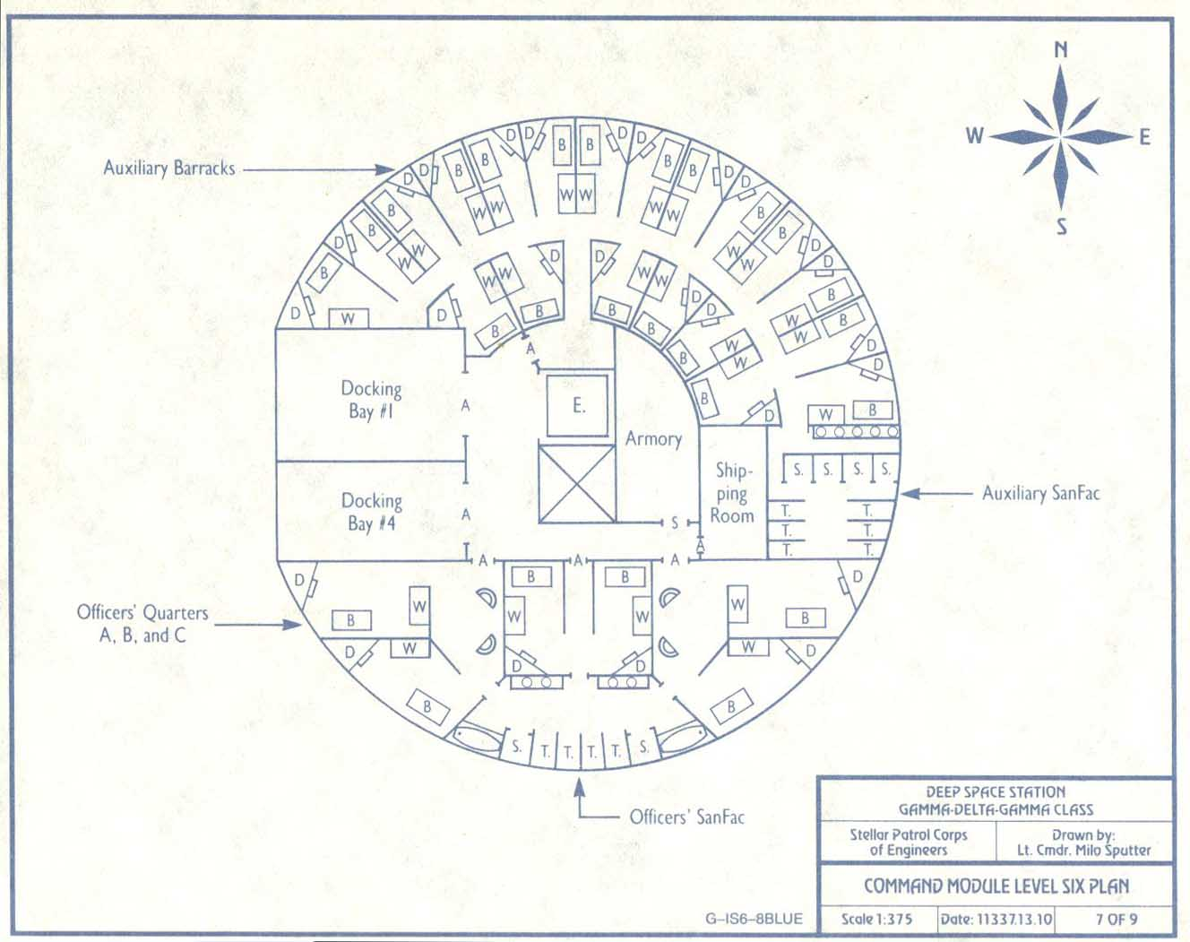 Space Station Blueprints (page 3) - Pics about space