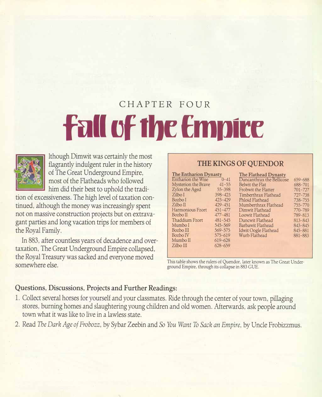 The Infocom Gallery: Zork I: The Great Underground Empire